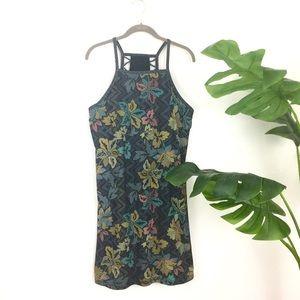 PrAna Floral Shelf Bra Active Outdoor Dress